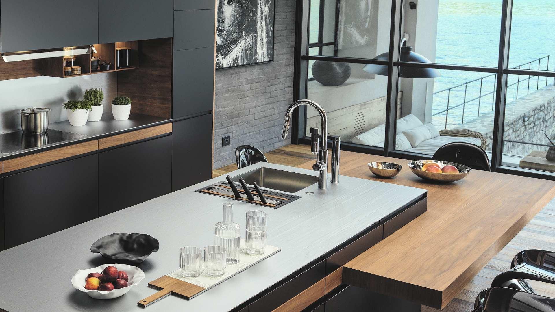 Spülen, Armaturen und Küchenausstattung bei Miele Center Markant in Dornbirn