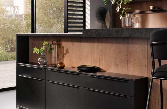 Küchentrends 2020 Häcker Mattlack im Miele Center Markant