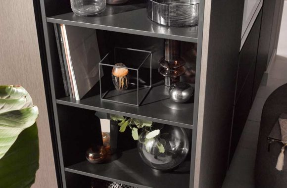 Küchentrends 2020 Metallic Optik und Haptik im Miele Center markant