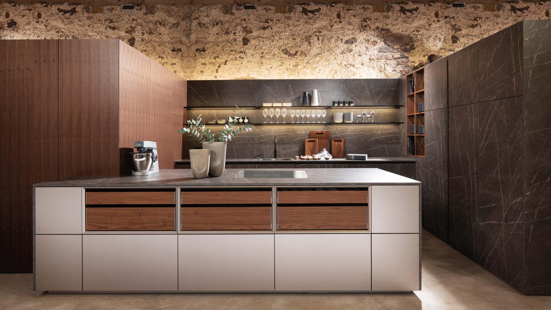 Warendorf Küchen beim Miele Center Markant in Dornbirn, Vorarlberg