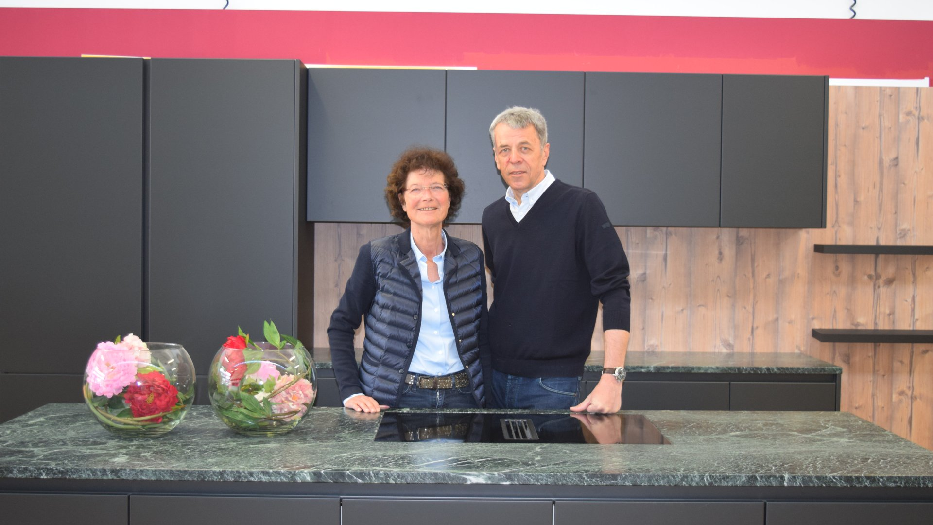 Barbara Auernig und Helmut Auernig, Geschäftsführung des Miele Center Markant
